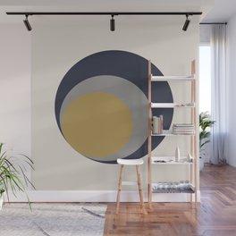 Inverted Circles Wall Mural