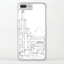 The Hague Netherlands LDS Temple Clear iPhone Case