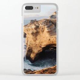 Cape Kiwanda Clear iPhone Case
