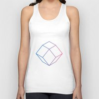 geometry Tank Tops featuring Geometry by Geometry