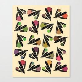 Foglie Sparse Canvas Print
