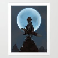 Child of Night Art Print