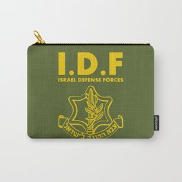 IDF Israel Defense Forces - with Symbol - ENG Carry-All Pouch