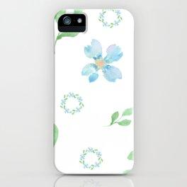 Beautifully Blue iPhone Case
