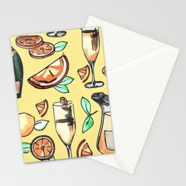 Bottomless Mimosas Stationery Cards