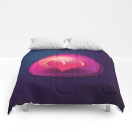 Heart Bubble Comforters