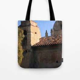 Carmel Mission Basilica Tote Bag