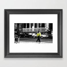 Beat on the Street Framed Art Print