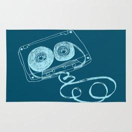 Oldschool Blues Mixtape Rug