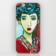 LADY MATISSE IN TEEN YEARS iPhone & iPod Skin