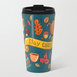Autumn Is The Time To Stay Cozy Travel Mug