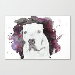 Portland Dog Canvas Print