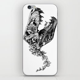 Jurassic Bloom - The Rex.  iPhone Skin