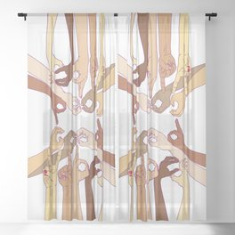 Good Vibes Sheer Curtain