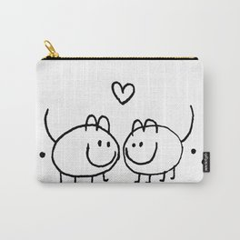 LOVE AND SHIT HAPPENS Carry-All Pouch