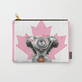 Portuguese Canadian Biker Hot Pink Culture. Carry-All Pouch