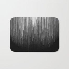 The Lights (Black and White) Bath Mat