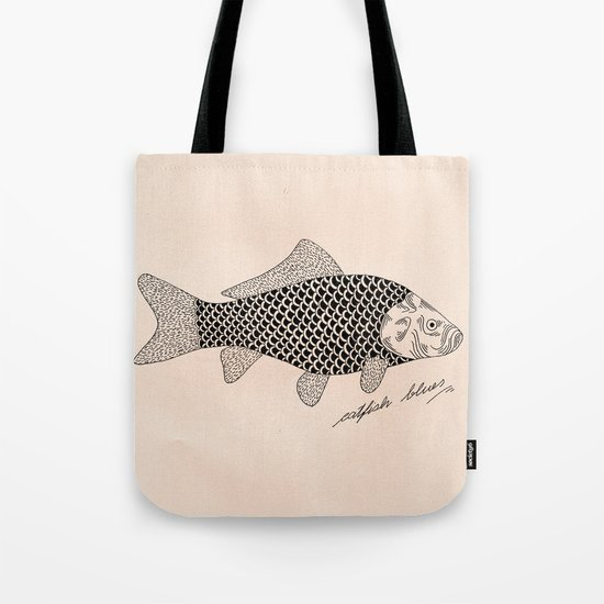 Catfish blues Tote Bag
