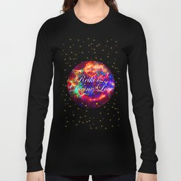 Reiki is Divine Love | The Energy it Flows | Going with the Flow Long Sleeve T-shirt