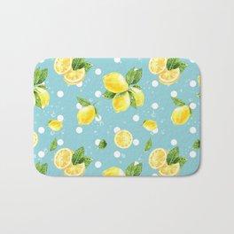 Lemon Pattern 05 Bath Mat