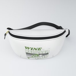 Wine Lover Wine is My Reliever od Fanny Pack