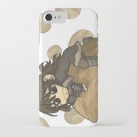 kili iPhone & iPod Cases featuring Kili&Walnut by AlyTheKitten