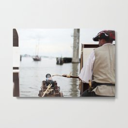 Pirate Series - Fire at will  Metal Print