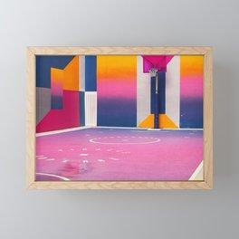 Courtside Framed Mini Art Print