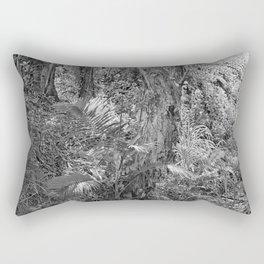 Rain forest view with creek Rectangular Pillow