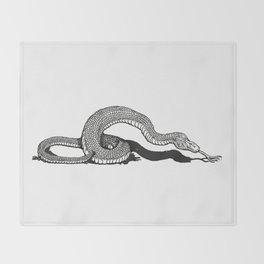 Snake 2 Throw Blanket