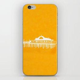 Seaside Pier in Yellow iPhone Skin