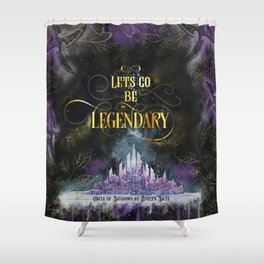 Circle of Shadows - Legendary Shower Curtain