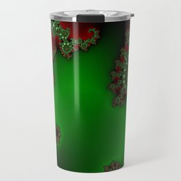 Mandelbrot - Green Travel Mug