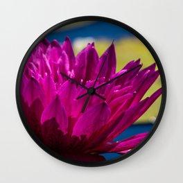 Lilly Pad Light Wall Clock