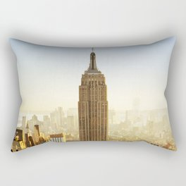 New York City Sunshine Rectangular Pillow