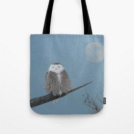 My world orbits around hers Tote Bag