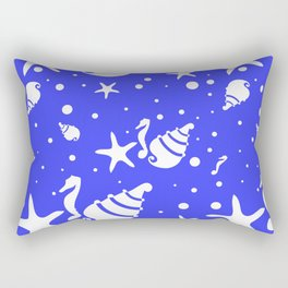 Underwater world Rectangular Pillow
