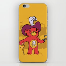Captain Bear Hook iPhone Skin
