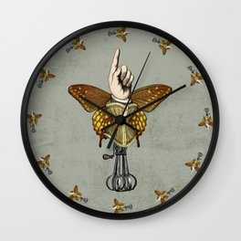 Butterhand Portrait Wall Clock