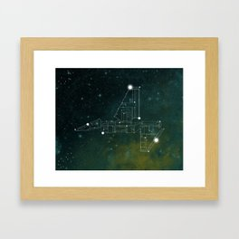 Constellation Imperial Lander Framed Art Print