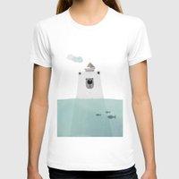 polar bear T-shirts featuring Polar bear by missmalagata