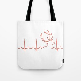 HUNTING HEARTBEAT Tote Bag