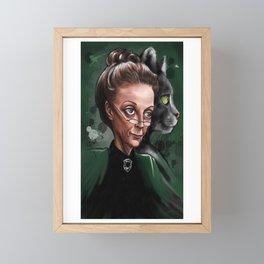 Minerva McGonagall Framed Mini Art Print