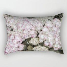 French Country Hydrangea Rectangular Pillow