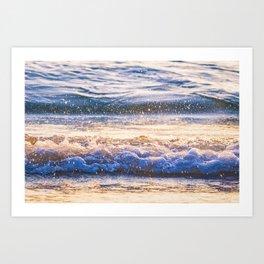 Atlantic Ocean Waves 4184 Art Print