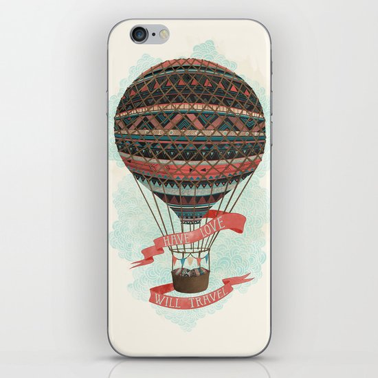 have love, will travel iPhone & iPod Skin