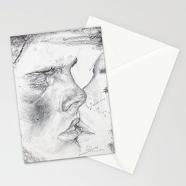 Kissing Insecurities Stationery Cards