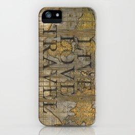 Live Love Travel iPhone Case