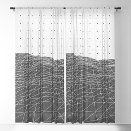 Terra Graphica Sheer Curtain