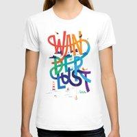 wanderlust T-shirts featuring Wanderlust by Wharton